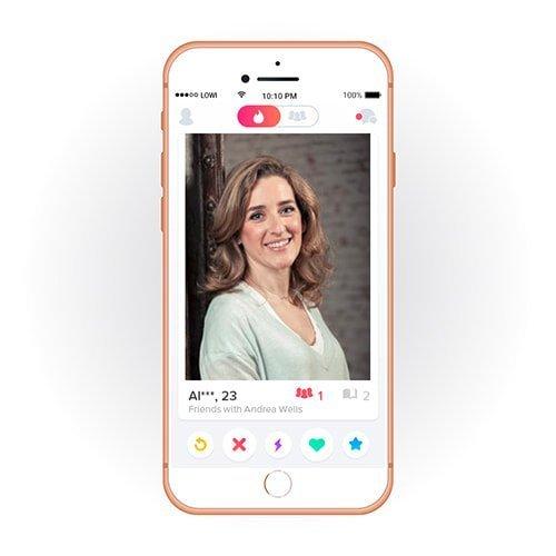 Perfil Tinder móvil